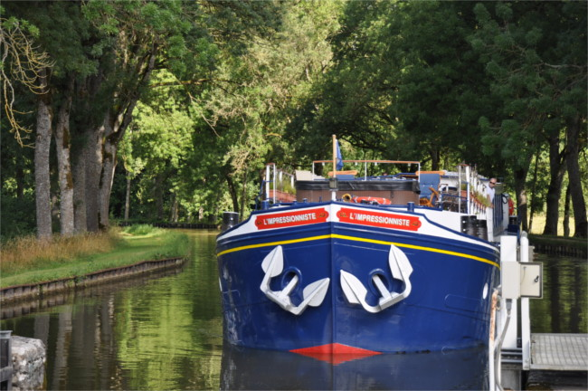 hotel barge L'Impressionniste