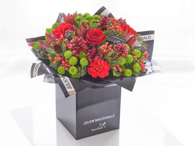 Julien Macdonald Noël Hand-tied flowers