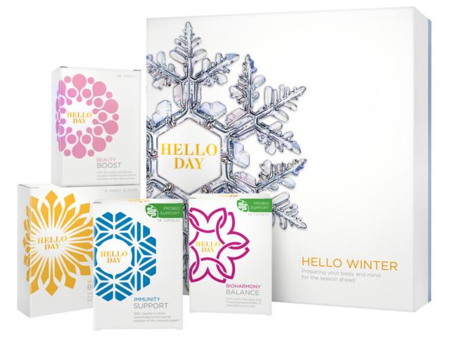 Hello Day winter wellness box