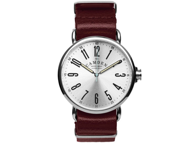 Camden leather watch