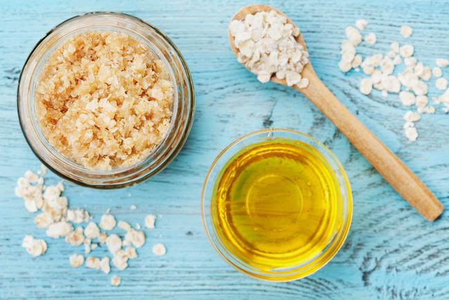 Honey and oats