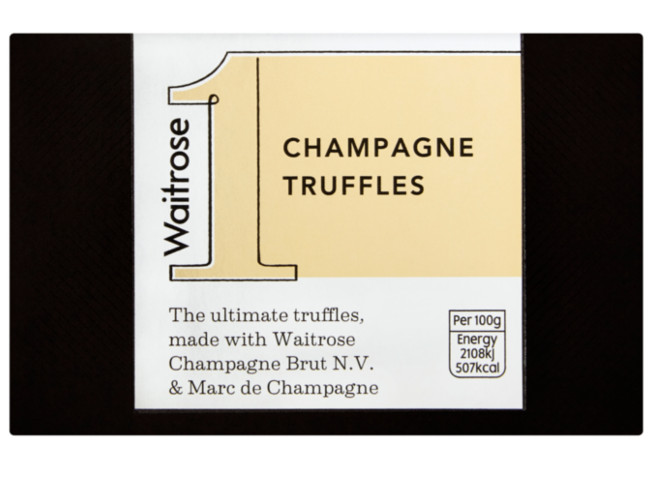 Waitrose truffles