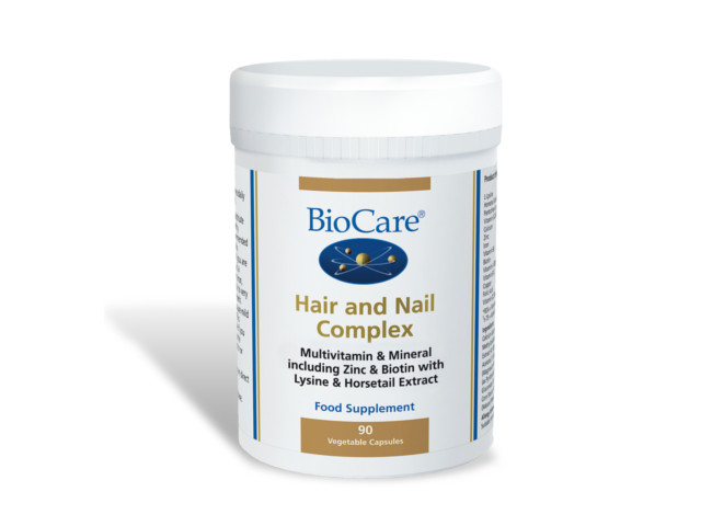 BioCare hair and nail complex capsules