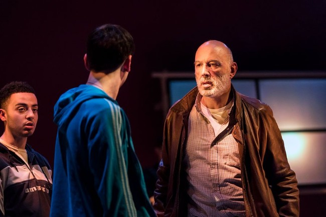Carlos Chahine in Goats at Jerwood Theatre