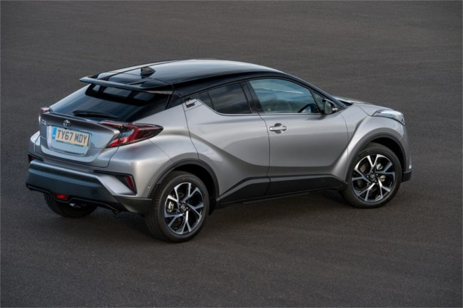 Toyota C-HR robust styling