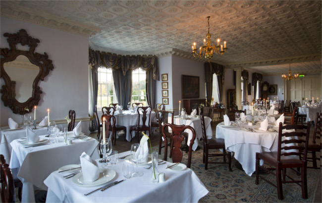 Chilston Park Hotel dining