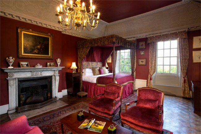 Chilston Park Hotel suite