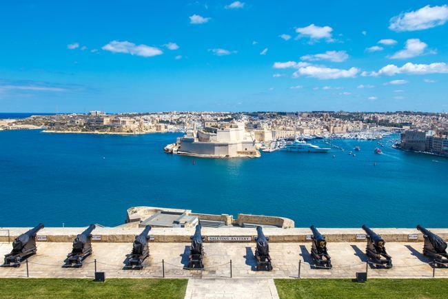 Valletta gun battery
