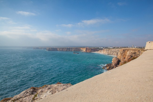View from Cape Sagres