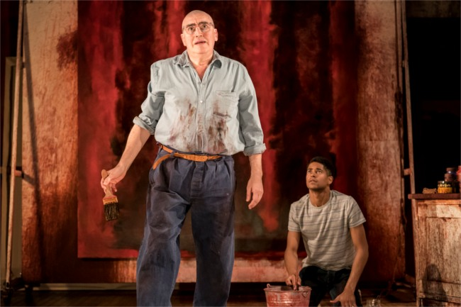Red - Alfred Molina as Mark Rothko