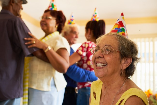 Stay socially active in later life