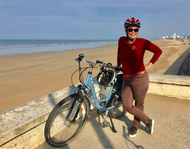 Diane cycling Vendee