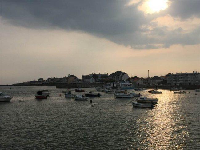 St Gilles Croix de Vie at sunset