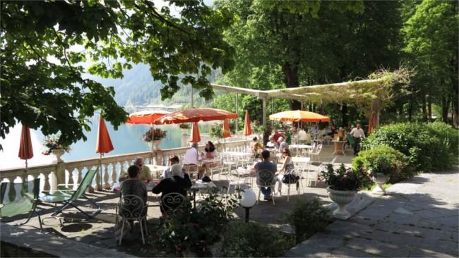 Lunch at Poschiavo