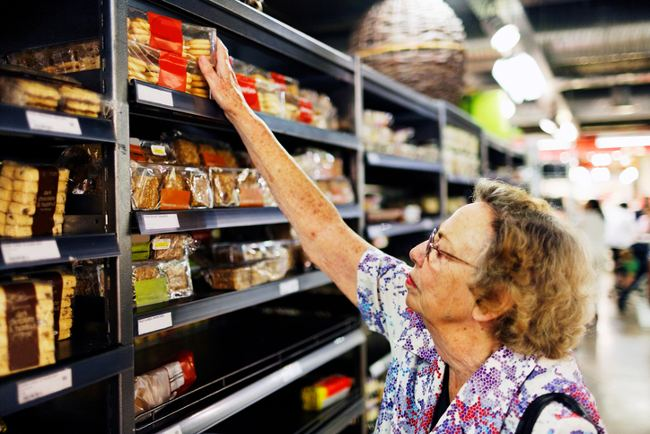 arthritis pain when shopping