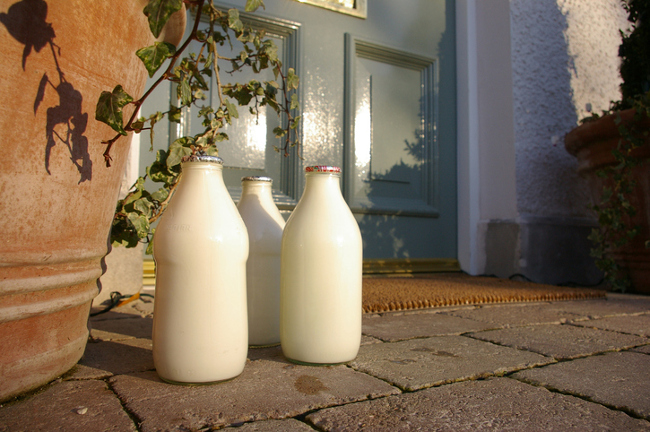 Milk deliveries a give away to burglars