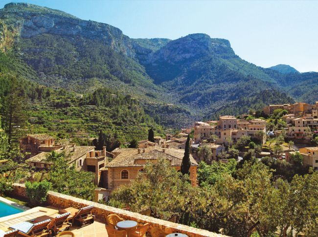 Deya view from Belmond La Residencia