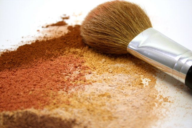 powder is not necessarily the enemy of mature skin