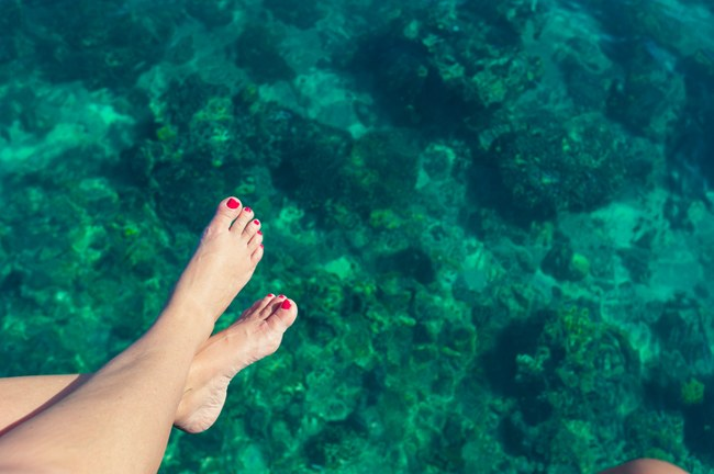 keeping your feet in top condition throughout summer