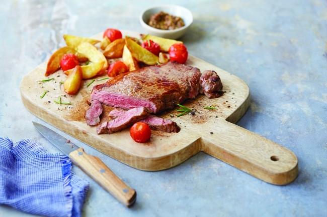 Aldi Wagyu sirloin steak