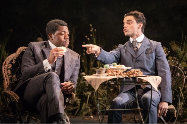 Fehinti Balogun as Algernon and Jacob Fortune-Lloyd as Jack 3 © Marc Brenner