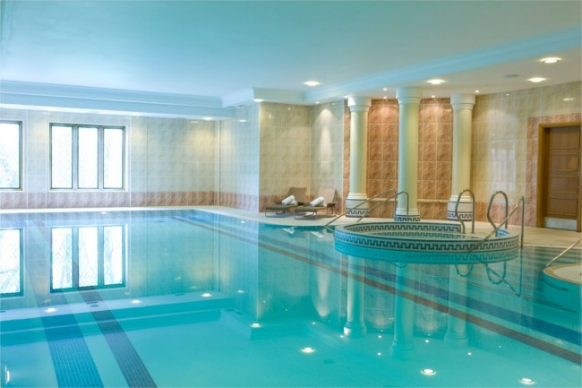 luxury spa faciliites New Hall hotel