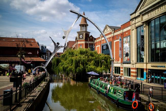River Witham in Lincoln