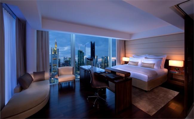 Skyline suite, Jumeirah Frankfurt