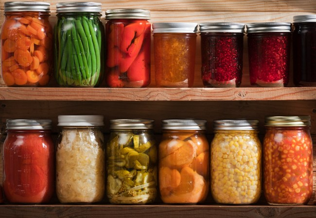 preserving harvest produce