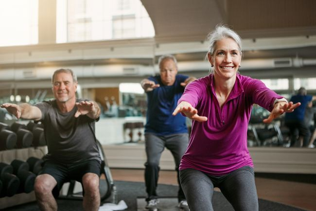 active lifestyle for older people