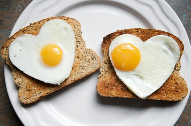 love affair with eggs
