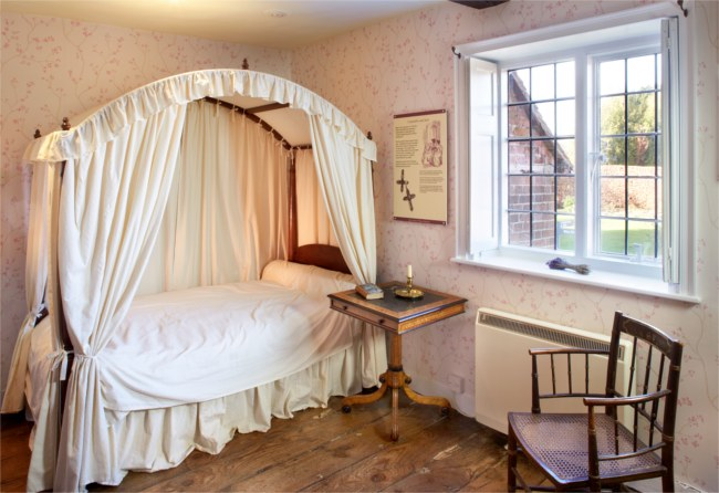 Jane Austen bedchamber