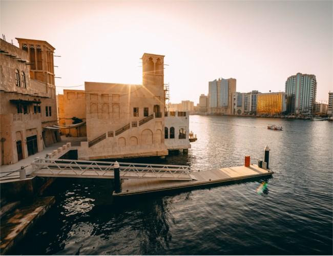 Al Seef creek waterfront