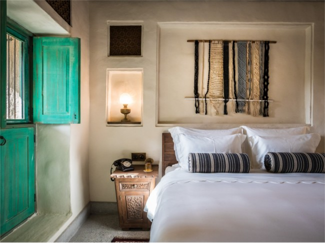 Al Seef traditional touches to rooms