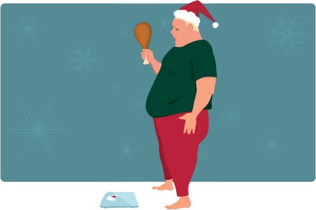 Christmas cholesterol