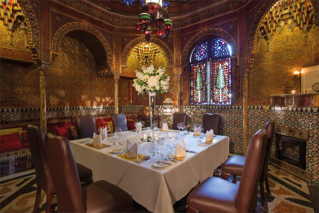 Alhambra dining room - private dining