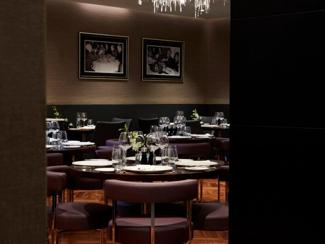 Crowne Plaza London - Albert Embankment. POTUS restaurant.