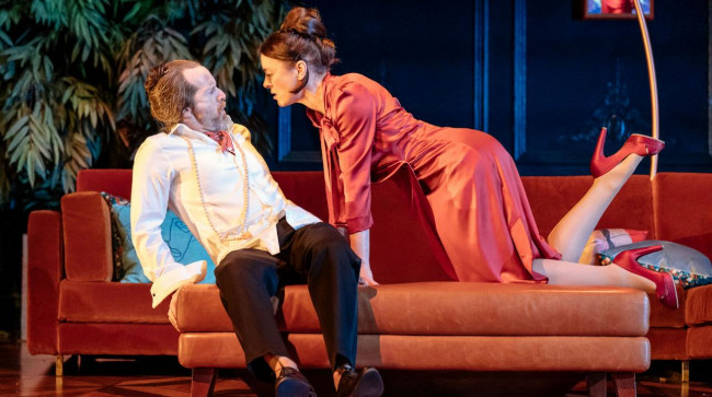 Tartuffe - Denis O'Hare and Olivia Williams