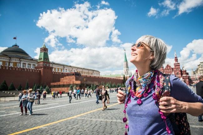 Mature travellers seek adventure