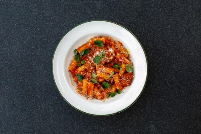 mozzarella pasta
