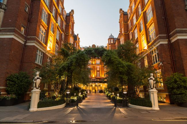 London's Spy Hotel