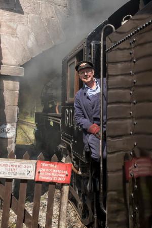 Churnet Valley Railway guard