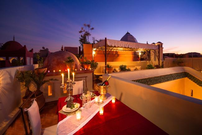 Dar Habiba roof terrace view