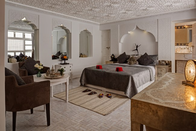 Riad Star bedroom