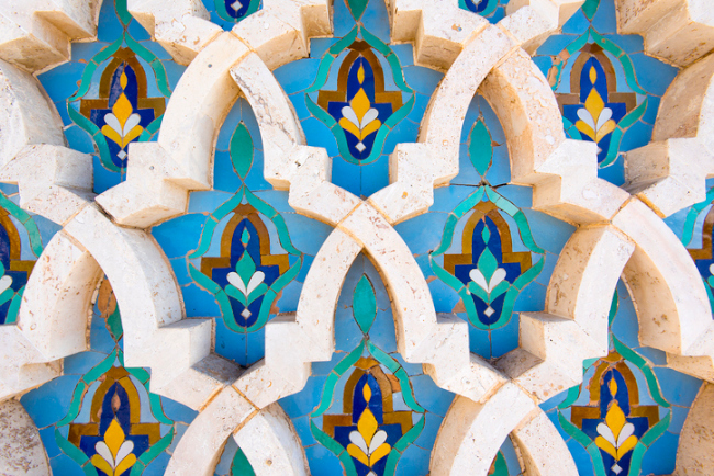 Marrakech tile detail