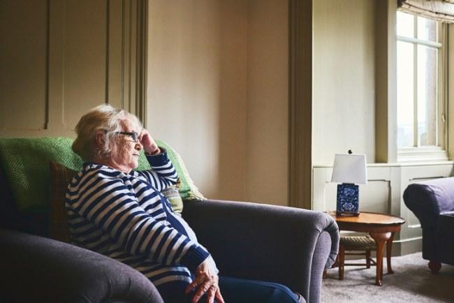 Caregiver mood boost