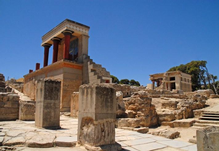 Knossos is a destination for Celestyal cruises