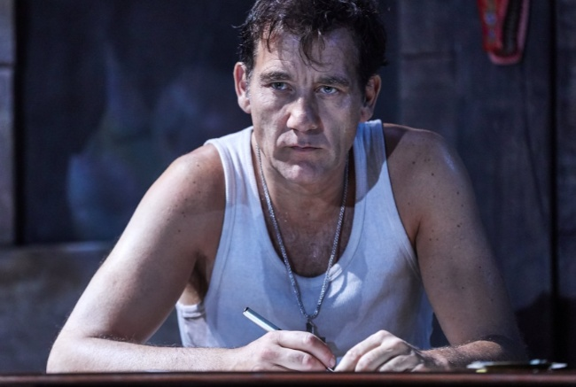 Clive Owen in The Night of the Iguana