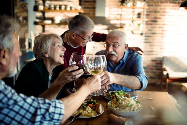 Baby boomer drinkers