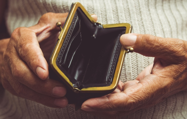 pension poverty